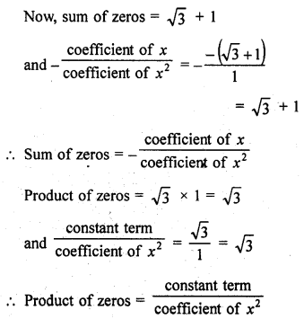 RD Sharma Class 10 Solutions Chapter 2 PolynomialsEx 2.1 11