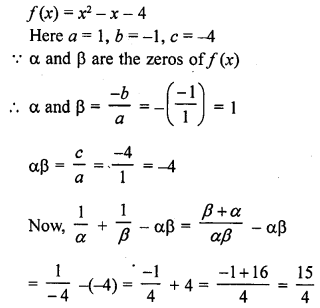 RD Sharma Class 10 Solutions Chapter 2 PolynomialsEx 2.1 26