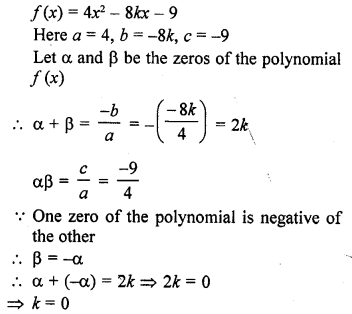 RD Sharma Class 10 Solutions Chapter 2 PolynomialsEx 2.1 29