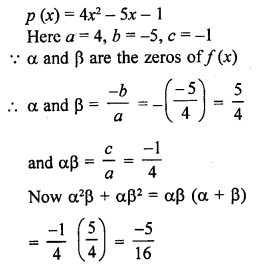 RD Sharma Class 10 Solutions Chapter 2 PolynomialsEx 2.1 31