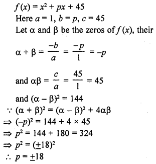 RD Sharma Class 10 Solutions Chapter 2 PolynomialsEx 2.1 37