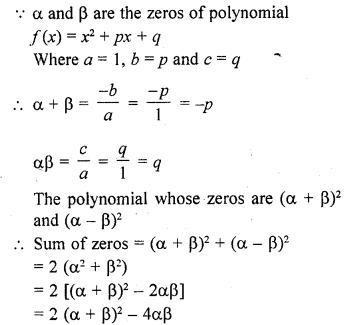 RD Sharma Class 10 Solutions Chapter 2 PolynomialsEx 2.1 47