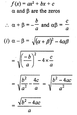 RD Sharma Class 10 Solutions Chapter 2 PolynomialsEx 2.1 54