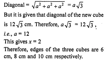 RD Sharma Class 10 Solutions Chapter 14 Surface Areas and VolumesEx 14.1 11