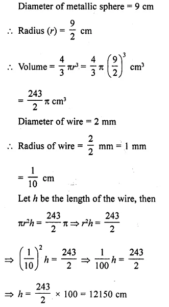 RD Sharma Class 10 Solutions Chapter 14 Surface Areas and VolumesEx 14.1 13