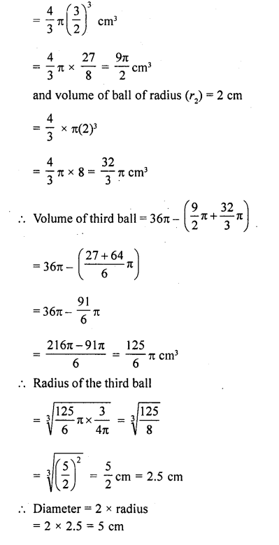RD Sharma Class 10 Solutions Chapter 14 Surface Areas and VolumesEx 14.1 30