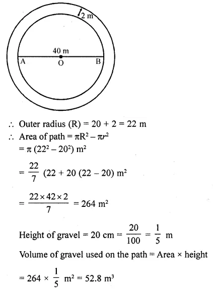 RD Sharma Class 10 Solutions Chapter 14 Surface Areas and VolumesEx 14.1 31