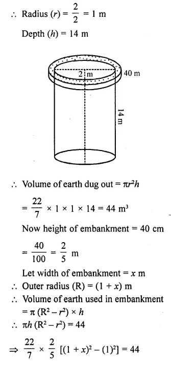 RD Sharma Class 10 Solutions Chapter 14 Surface Areas and VolumesEx 14.1 34