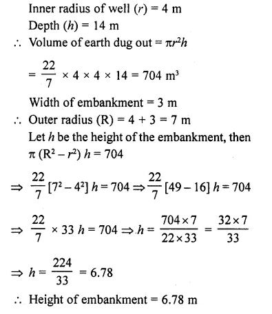 RD Sharma Class 10 Solutions Chapter 14 Surface Areas and VolumesEx 14.1 36