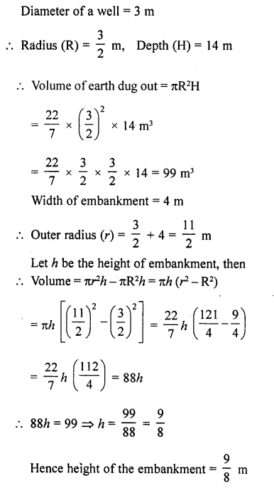 RD Sharma Class 10 Solutions Chapter 14 Surface Areas and VolumesEx 14.1 37