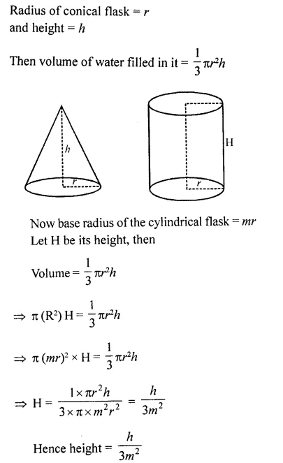 RD Sharma Class 10 Solutions Chapter 14 Surface Areas and VolumesEx 14.1 42