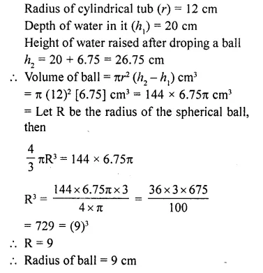 RD Sharma Class 10 Solutions Chapter 14 Surface Areas and VolumesEx 14.1 45