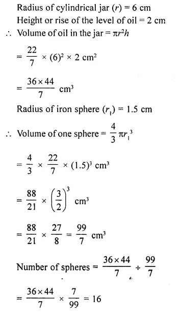 RD Sharma Class 10 Solutions Chapter 14 Surface Areas and VolumesEx 14.1 47