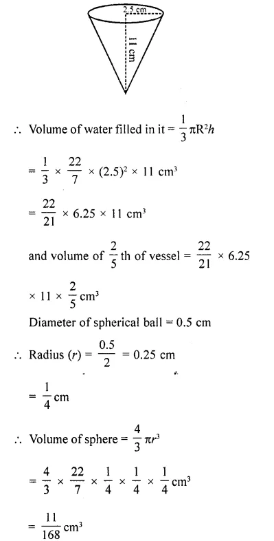 RD Sharma Class 10 Solutions Chapter 14 Surface Areas and VolumesEx 14.1 52