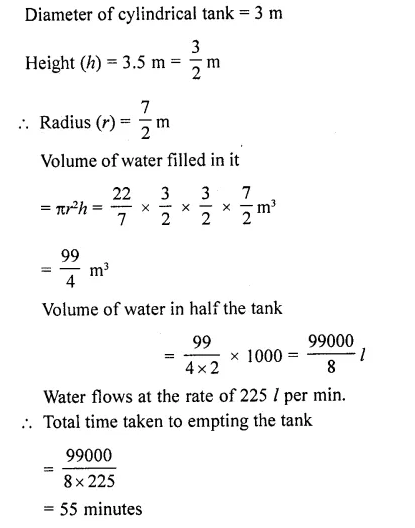RD Sharma Class 10 Solutions Chapter 14 Surface Areas and VolumesEx 14.1 56