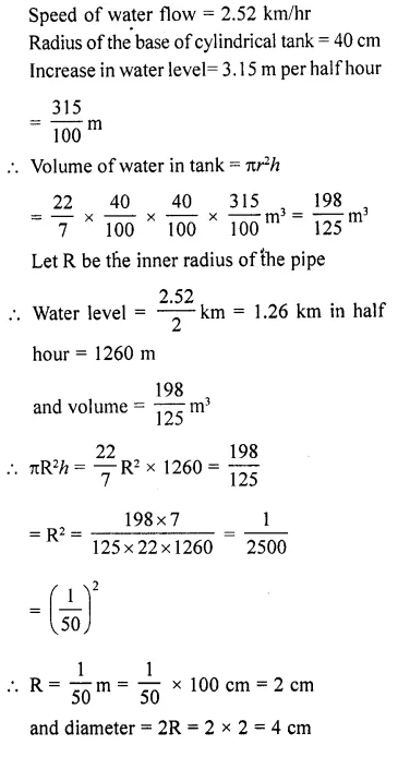 RD Sharma Class 10 Solutions Chapter 14 Surface Areas and VolumesEx 14.1 57
