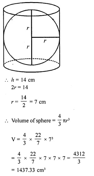 RD Sharma Class 10 Solutions Chapter 14 Surface Areas and VolumesEx 14.1 62