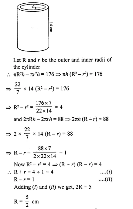 RD Sharma Class 10 Solutions Chapter 14 Surface Areas and VolumesEx 14.1 66