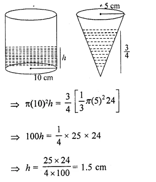 RD Sharma Class 10 Solutions Chapter 14 Surface Areas and VolumesEx 14.1 77