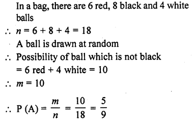 RD Sharma Class 10 Solutions Chapter 16 Probability Ex 16.1 14