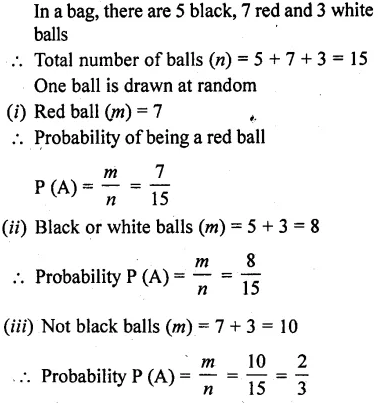 RD Sharma Class 10 Solutions Chapter 16 Probability Ex 16.1 19