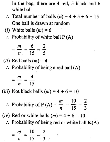 RD Sharma Class 10 Solutions Chapter 16 Probability Ex 16.1 20