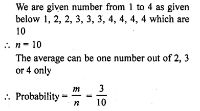 RD Sharma Class 10 Solutions Chapter 16 Probability Ex 16.1 27