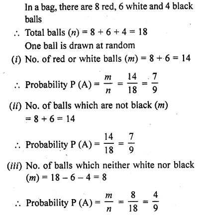 RD Sharma Class 10 Solutions Chapter 16 Probability Ex 16.1 31
