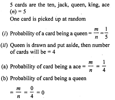 RD Sharma Class 10 Solutions Chapter 16 Probability Ex 16.1 39