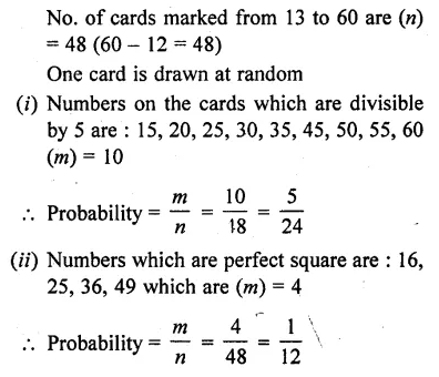 RD Sharma Class 10 Solutions Chapter 16 Probability Ex 16.1 41