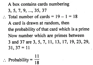 RD Sharma Class 10 Solutions Chapter 16 Probability Ex 16.1 45