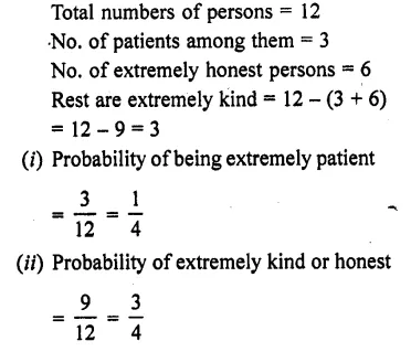 RD Sharma Class 10 Solutions Chapter 16 Probability Ex 16.1 46