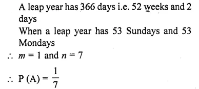 RD Sharma Class 10 Solutions Chapter 16 Probability Ex 16.1 56