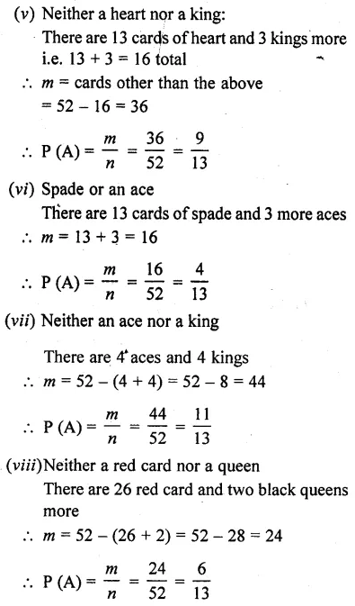 RD Sharma Class 10 Solutions Chapter 16 Probability Ex 16.1 7
