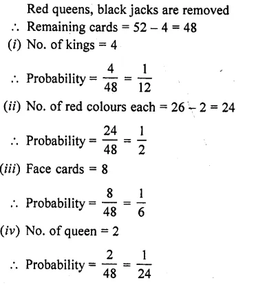 RD Sharma Class 10 Solutions Chapter 16 Probability Ex 16.1 73