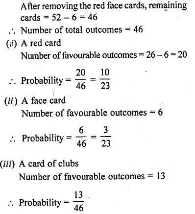 RD Sharma Class 10 Solutions Chapter 16 Probability Ex 16.1 75