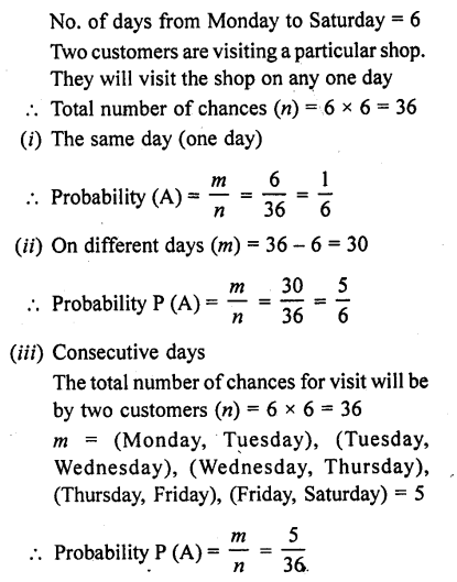 RD Sharma Class 10 Solutions Chapter 16 Probability Ex 16.1 76