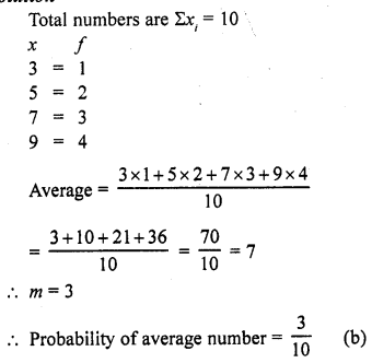 RD Sharma Class 10 Solutions Chapter 16 Probability Ex MCQS 15