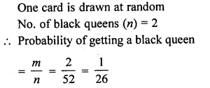 RD Sharma Class 10 Solutions Chapter 16 Probability Ex VSAQS 12
