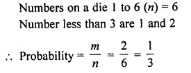 RD Sharma Class 10 Solutions Chapter 16 Probability Ex VSAQS 13