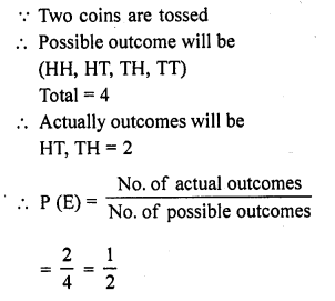 RD Sharma Class 10 Solutions Chapter 16 Probability Ex VSAQS 16