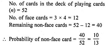 RD Sharma Class 10 Solutions Chapter 16 Probability Ex VSAQS 2