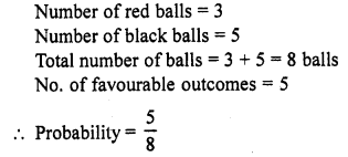 RD Sharma Class 10 Solutions Chapter 16 Probability Ex VSAQS 20