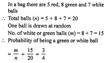 RD Sharma Class 10 Solutions Chapter 16 Probability Ex VSAQS 3