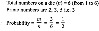 RD Sharma Class 10 Solutions Chapter 16 Probability Ex VSAQS 4