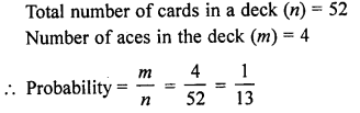 RD Sharma Class 10 Solutions Chapter 16 Probability Ex VSAQS 8