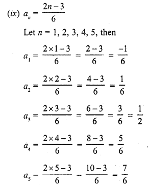 RD Sharma Class 10 Solutions Chapter 5 Arithmetic ProgressionsEx 5.1 6