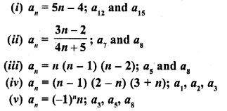 RD Sharma Class 10 Solutions Chapter 5 Arithmetic ProgressionsEx 5.1 7