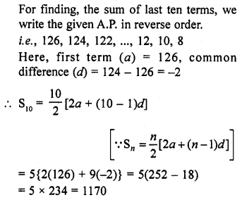 RD Sharma Class 10 Solutions Chapter 5 Arithmetic ProgressionsEx 5.6 10