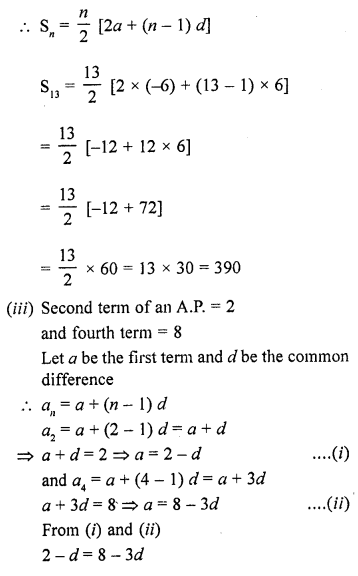 RD Sharma Class 10 Solutions Chapter 5 Arithmetic ProgressionsEx 5.6 28